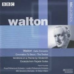 Walton - Cello Concerto; Coronation Te Deum; Facade Suite (No. 2) - William Walton,Royal Philharmonic Orchestra