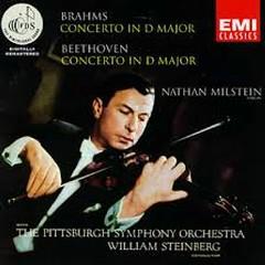 Beethoven - Violin Concerto; Brahms - Violin Concerto - Nathan Milstein