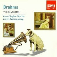 Brahms - Violin Sonatas  - Anne - Sophie Mutter,Alexis Weissenberg