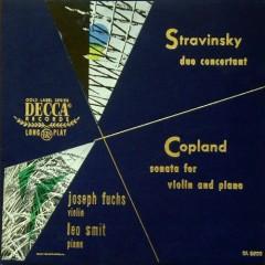 Stravinsky - Duo Concertante