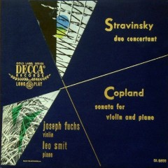 Stravinsky - Duo Concertante - Lillian Fuchs,Joseph Fuchs