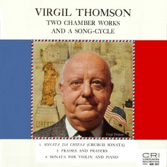 Thomson - Two Chamber Works And A Song Cycle  - Lillian Fuchs,Joseph Fuchs