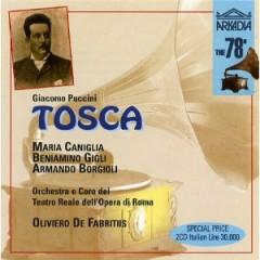 Puccini  - Tosca - Oliviero De Fabritiis CD 2