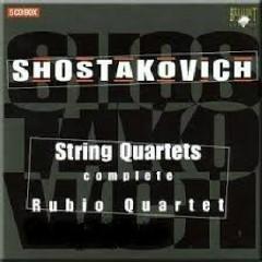 Shostakovich - Complete String Quartets CD 1  - Rubio Quartet