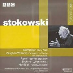 Stokowski Conducts Klemperer, Vaughan Williams, Ravel, Brahms, Novácek - Leopold Stokowski,London Symphony Orchestra