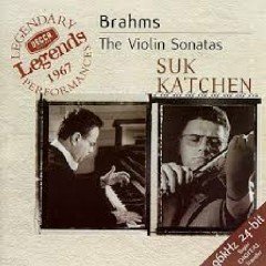 Brahms - The Violin Sonatas - Julius Katchen, Josef Suk