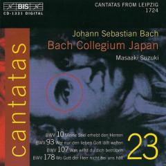 Bach - Cantatas Vol 23 CD1