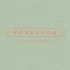 Notebook (1st Mini Album) - Park Kyung