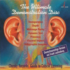 The Ultimate Demonstration Disc-Chesky Records Guide to Critical Listening (CD3) - Various Artists