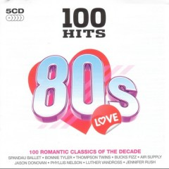 100 Hits 80s Love (CD5)