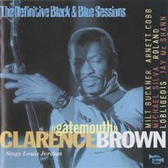 Sings Louis Jordan - Clarence 'Gatemouth' Brown