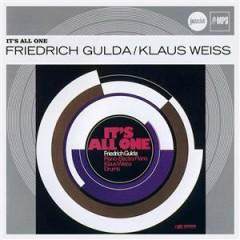 Verve Jazzclub: Originals - It's All One - Friedrich Gulda,Klaus Weiss