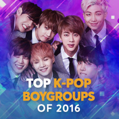 Top K-Pop Boygroups Of 2016