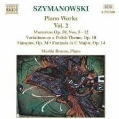 Karol Szymanowski Piano Music Works CD 2 No. 1