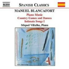 Manuel Blancafort Piano Music CD 2 No. 1