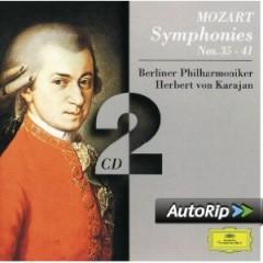 Mozart - Symphonies 35, 36, 38, 39, 40, 41 CD 2 - Herbert von Karajan,Berlin Philharmonic Orchestra