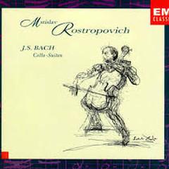 Bach Cello Suites - Mstislav  Rostropovich