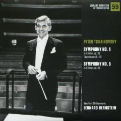 Peter Ilyich Tchaikovsky – Symphonies No 4 & No 5 - Leonard Bernstein,New York Philharmonic