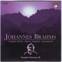 Johannes Brahms Edition: Complete Works (CD59)