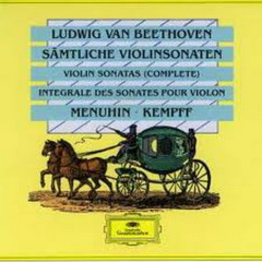 Beethoven: Complete Violin Sonatas CD4 - Yehudi Menuhin,Wilhelm Kempff