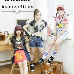 Butterflies - Piggy Dolls