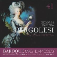Baroque Masterpieces CD 41 - Pergolesi La Serva Padrona - Collegium Aureum