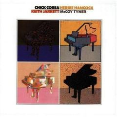 JAZZ - McCoy Tyner,  Chick Corea, Herbie Hancock, Keith Jarrett - McCoy Tyner,Chick Corea,Herbie Hancock,Keith Jarrett