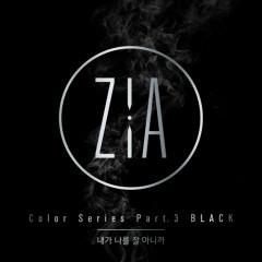Color Series Part.3 'Black' (Single)