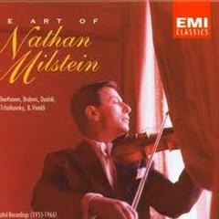 The Art Of Nathan Milstein CD1 - Nathan Milstein
