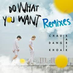 Do What You Want (Remixes) - Châu Đăng Khoa, Karik