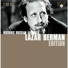 Historic Russian Archives CD5 - Lazar Berman