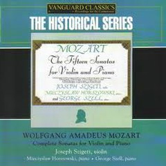 Mozart Complete Sonatas For Violin And Piano CD4 - George Szell,Joseph Szigeti,Mieczyslaw Horszowski