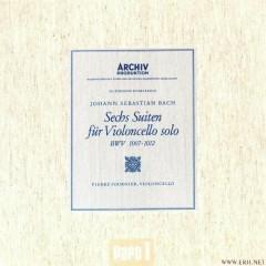 Bach, Cellosuiten BWV 1007 1012 CD1