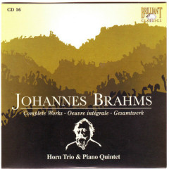 Johannes Brahms Edition: Complete Works (CD16)