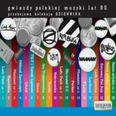 Kolekcja Dziennika Gwiazdy polskiej muzyki lat 80 - T.Love