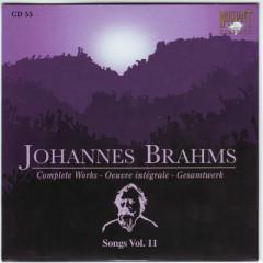 Johannes Brahms Edition: Complete Works (CD55)