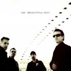 Beautiful Day (CD Single White - Canadian) - U2