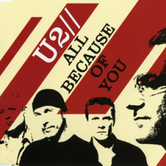 All Because of You (CD Single UK Version 1) - U2