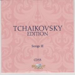 Tchaikovsky Edition CD 53 (No. 1)
