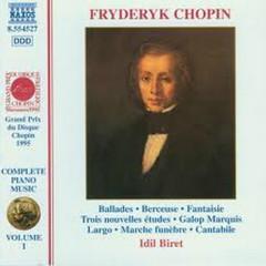 Chopin: Complete Piano Music CD10 No.1