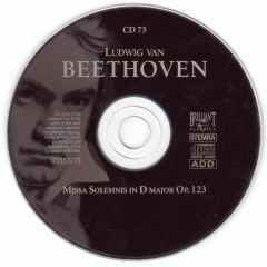 Ludwig Van Beethoven- Complete Works (CD73)