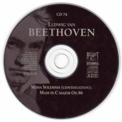 Ludwig Van Beethoven- Complete Works (CD74)