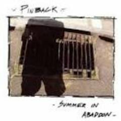 Summer In Abaddon - Pinback