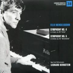 Felix Mendelssohn – Symphonies No 4 & No 5 - Leonard Bernstein,New York Philharmonic