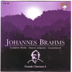 Johannes Brahms Edition: Complete Works (CD58)