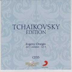 Tchaikovsky Edition CD 33