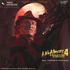A Nightmare On Elm Street 4: The Dream Master (Score)