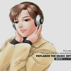 PATLABOR TV+NEW OVA 20th ANNIVERSARY PATLABOR THE MUSIC SET-2 CD4 - Kenji Kawai