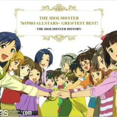 THE IDOLM@STER 765PRO ALLSTARS+ GRE@TEST BEST! -THE IDOLM@STER HISTORY - THE iDOLM@STER