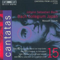 Bach - Cantatas Vol 15 CD2